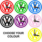 VW Volkeswagon personalised Cd clock with desk stand