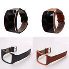 Genuine Leather Replacement Bracelet Wristband For Samsung Galaxy Gear S SM-R750