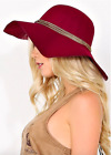 Women Wool Style Floppy Wide Brim Fedora Bowler Cloche Hat Thick Quality Cap
