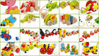 Pull Along Toys Animals Kids Children Babies Wooden