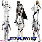 New Deluxe Stormtrooper Star Wars Mens Fancy Dress Official Adult Costume + Mask