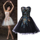 50's Vintage Short Evening Prom Party Masquerade Gowns Wedding Dress