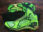 Under Armour Micro G Anatomix 1248426-392 Men Green Gold Notre Dame Shoes