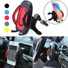 360° Car Air Vent Mount Cradle Holder Stand For iPhone Samsung Smart Cell Phones