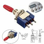 1/2/5/10x Mini MTS-102 6mm 3-Pin SPDT ON-ON 6A 125V AC Miniature Toggle Switches