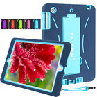 For Apple iPad 2 3 4 Mini Air KIDS Shockproof Heavy Duty Rubber Stand Case Cover