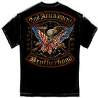 2ND AMENDMENT DOUBLE FLAGGED FOIL RN2245 ADULT T-SHIRT NEW