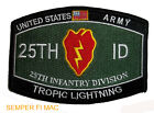 US ARMY 25TH INFANTRY DIVISION Tropic Lightning WORLD WAR II