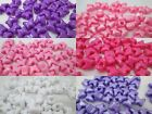 50 - 9 x 12 mm Butterfly Pony Beads -  Color Choice