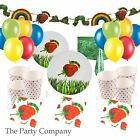 The Very Hungry Caterpillar Birthday Party Tableware Kits Plates, Cups, Napkins!