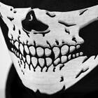 New Skull Half Face Bandana Skeleton Ski Motorcycle Biker Painball Mask Scarf US