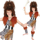 Kids Cave Girl Costume – Cave Girl Crazy Pre-Historic Fancy Dress Costume