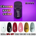 PROFESSIONAL KODI Black White Red Rose Farbgel Gel Nail Paint Nail Art