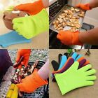 One Pcs Silicon Antiskid Cooking Gloves Heat Resistant Baking Cooking Tool