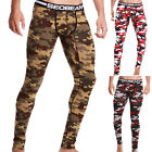 Sexy Mens Cotton Camouflage LONG Thermal Johns Underwear Pants SIZE S M L XL XXL