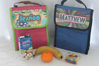 Childrens Named Back to School Lunch Box Bag Insulated Girls Boys Foil Lined NEW