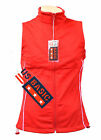 US Basic Cromwell Ladies Soft Shell Body Warmer Gilet Red Reflective Strips