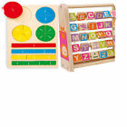 Educational toys kids children learn fractions maths abc alphabet