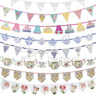 Luxury Bunting Banners - Garlands / Hanging Decorations - Tea Party / Wedding