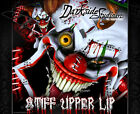 "HONDA 1984-1999 CR125 CR250 GRAPHICS WRAP ""STIFF UPPER LIP"" DECAL KIT CLOWN"