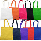 3 PACK COLOURFUL RECYCLED TOTE SHOPPER BAG- 10 COLOURS - BRAND NEW!