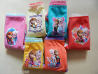 Girls Briefs Knickers Underwear Frozen 3 Pairs Age 3-5 5-7 100% Cotton
