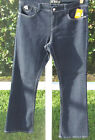 DEREON DENIM JUNIORS DARK BLUE BOOT CUT COTTON LOW 5/6 7/8 9/10  34 JEANS NEW
