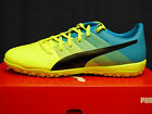 NEW PUMA evoPOWER 3.3 Men's Turf Shoes - SafetyYellow/Blue;  10353401