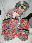 XXsmall-Med. Shih Tzu,Dog,Cat shirt, Flames vest see more in my e-bay store