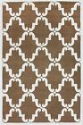 nuLOOM Hand Tufted Tuscan Trellis Contemporary Wool Brown Area Rug