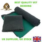 Traditional Charcoal Vet Bedding ROLL WHELPING FLEECE DOG PUPPY PRO BED