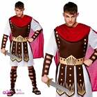 MENS ROMAN CENTURION GLADIATOR SOLDIER WARRIOR SPARTACUS FANCY DRESS COSTUME