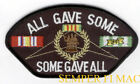 SOME GAVE ALL GAVE SOME VIETNAM POW WALL PATCH US AIR FORCE NAVY ARMY MARINES