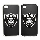 Troopers Logo -Rubber and Plastic Phone Cover Case- Baseball Star Wars Inspired