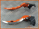 Ducati ST4S 2003 CNC Long Blade Adjustable Brake Clutch Levers