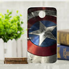 Captain Pattern Painted Shield Back Skin TPU Soft Case Cover For Motorola Phone