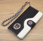 Ancient Snake Wallet Leather Flip Handmade Stand Case For iPhone 5S SE 6S 7 Plus