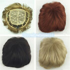 Toupee Good quality Synthetic hair Toupees hair loss top piece wig 35 Color