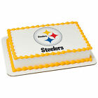 Pittsburgh Steelers NFL football image cake topper frosting sheet #4581 $11.7 USD on eBay