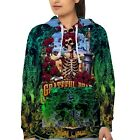 Grateful Dead Band Hoodie for Women