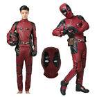 XCOSER Deadpool Wade Cosplay Costume Outfit X-Men Gloves Mas
