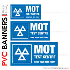 MOT TEST CENTRE PVC BANNER PRINTING GARAGE SERVICE STATION SIGNS ADVERTISING