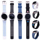1pcs Stripes Silicone Replacement Wrist Band For Samsung Galaxy Gear S2 BSM-R720