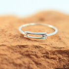 925 Sterling Silver Handmade Stackable Ring