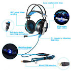 EACH G7000 USB7.1 Surround Sound Pro Gaming Headphone Vibration Headset with MIC
