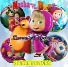Masha and the Bear BIRTHDAY PARTY DISNEY ? BALLOONS table cover banner