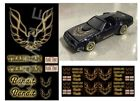 hot wheels decals water slide 1:64 scale decal 1/64 Smokey and the bandit