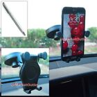 Car Windshield Rotate Arm Mount Holder+Stylus Touch Pen for Sony Mobile/Phone