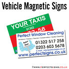 Magnetic Vehicle Signs Digitally Printed Car Magnet Full Colour 1200mmX300mm X 2