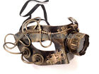 Steampunk Mask w Goggle Warrior Military Masquerade Ball Party Halloween Costume
